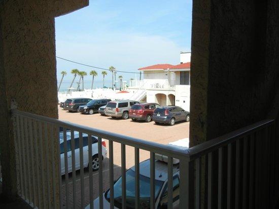 Casa Blanca Resort: View from front door.