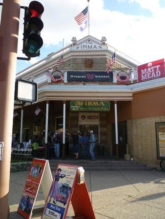 Buffalo Bill's Irma Hotel: Front