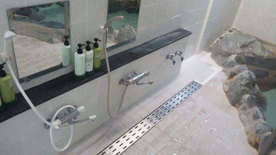 Iwatakan : Onsen showers