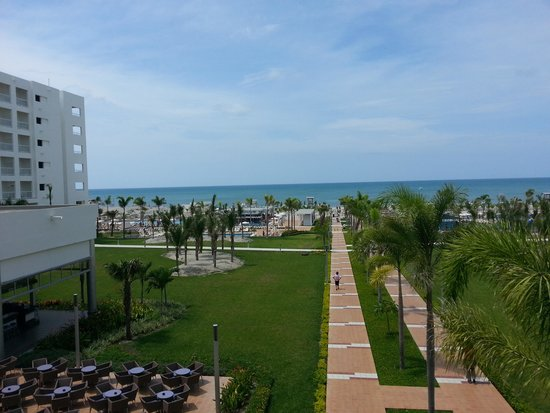 Hotel Riu Playa Blanca: riu desde el lobby