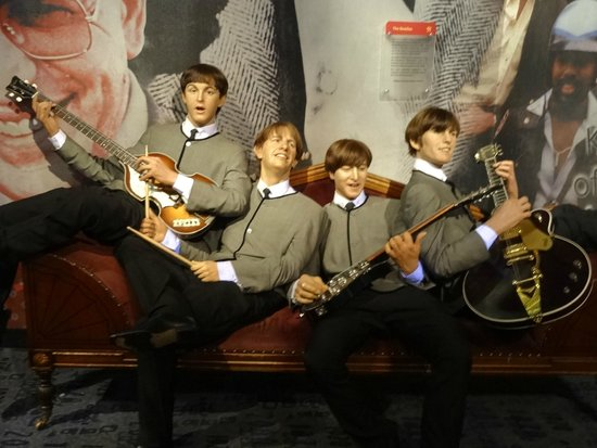 Madame Tussauds New York : Good resemblance of the Beatles.