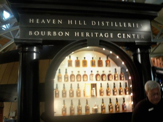 Heaven Hill Bourbon Heritage Center: Product Bar