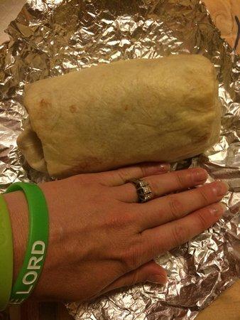 Effin Burrito: Huge Burrito!!