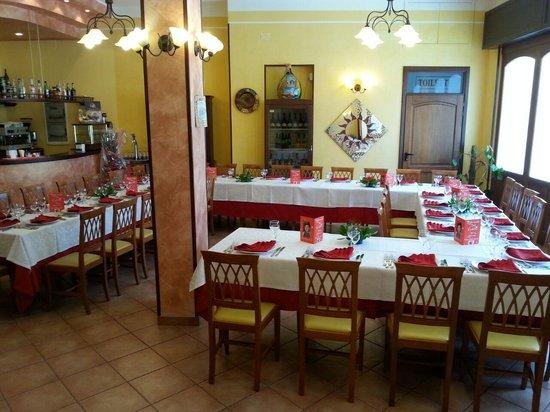Ristorante Pizzeria del Castello: la sala