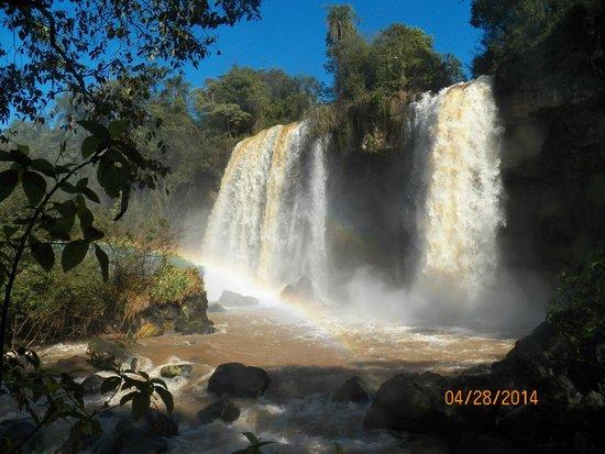 Cataratas del Iguazú: Las cascadas Hermanas