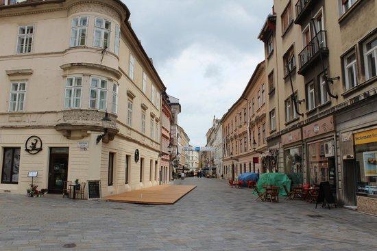 Bratislava Old Town: 本当に可愛い街です