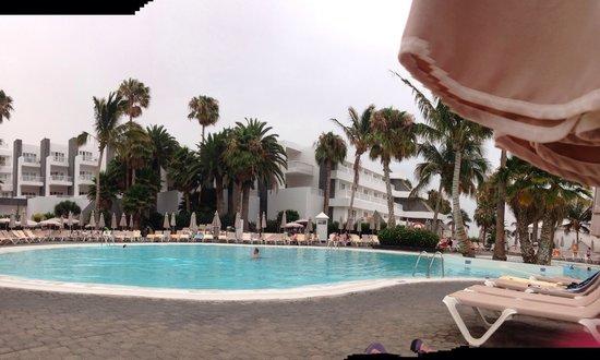 ClubHotel Riu Paraiso Lanzarote Resort: Quiet pool