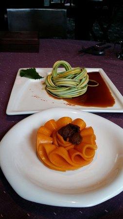Duck De Chine : Pumpkin w salted plum