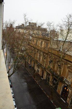 London Palace: Vista do quarto do hotel no 8° andar