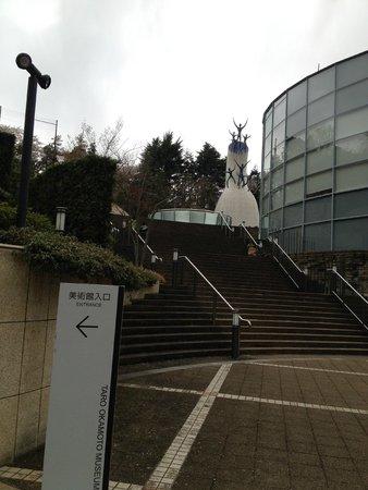 Taro Okamoto Museum of Art : 入口2