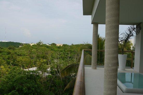 The Grand Bliss Riviera Maya: Balcony
