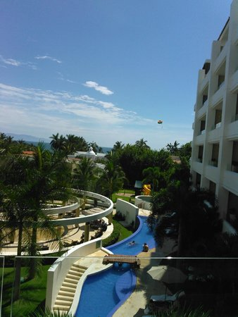 Marival Residences Luxury Resort Nuevo Vallarta: view from our room
