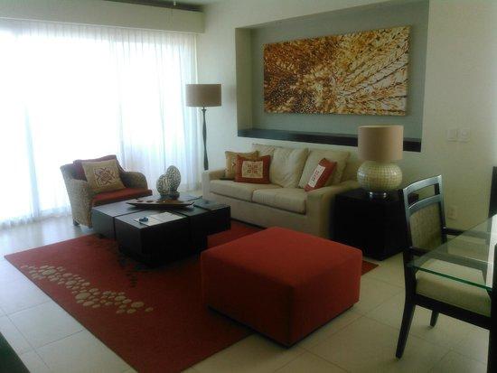 Marival Residences Luxury Resort: livingroom