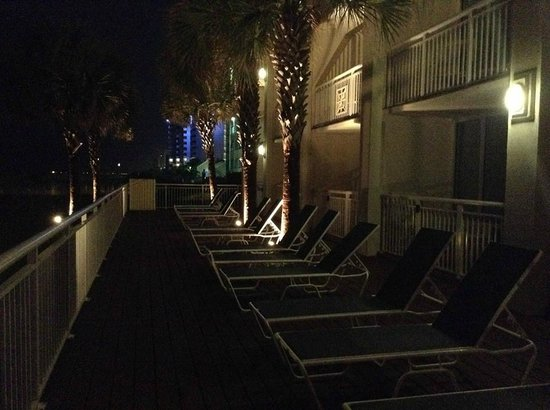 Best Western Plus Grand Strand Inn & Suites: Deck