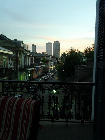 Lafitte Guest House: View from balcony