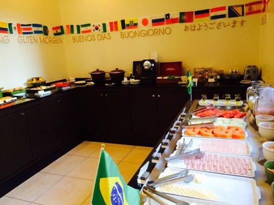 Adagio Curitiba Parque Barigui: Café