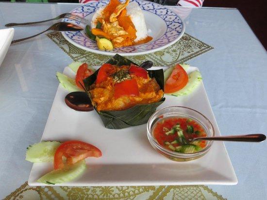 Angkor Borei: Fish and pumpkin curry