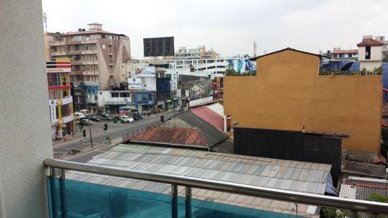 Supun Arcade Residency: Balcony view
