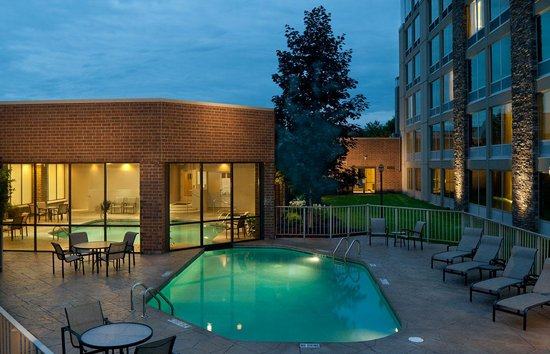 Sheraton Ann Arbor Hotel: Inddor/Outdoor Pool
