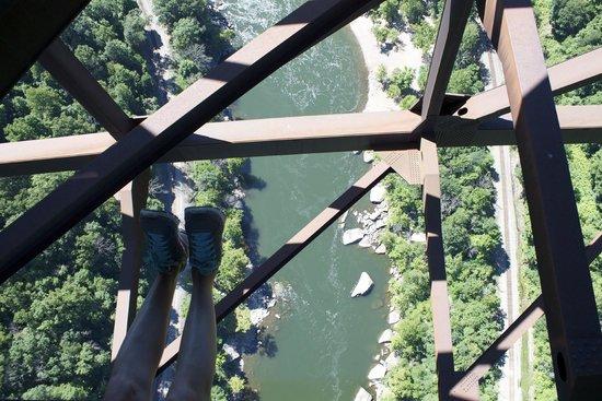 Bridge Walk- New River Gorge Bridge: 851 feet up