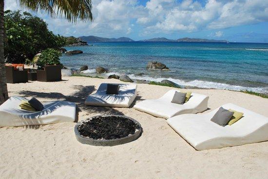 Outside sitting accommodation at CocoMaya