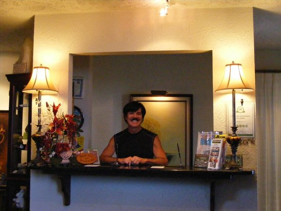 LandMARK Country Inn : The Staff and the person you go to for help.