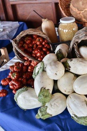 KALLISTI Tavern: local white eggplant