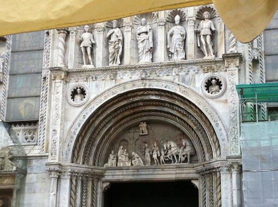 Sainte-Marie-des-Grâces (Santa Maria della Grazie) : Main west portal