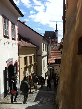 Historic Center of Cesky Krumlov : Side streets