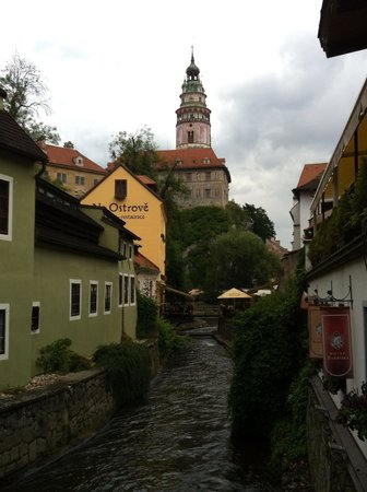 Historic Center of Cesky Krumlov : Typical view