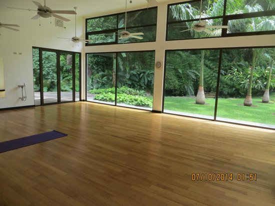 The Haven Hotel and Spa: Yoga Room