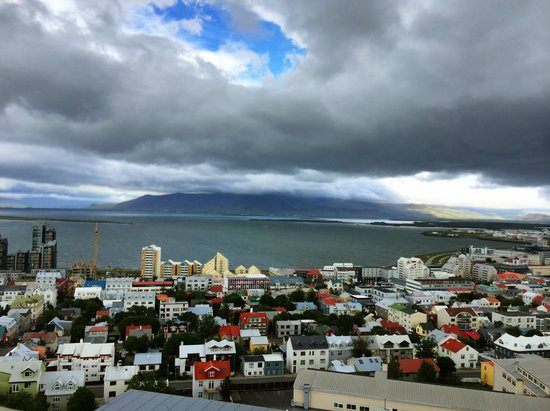 Reykjavik4you Apartments Hotel: View from the top of Hallgrimskirkja