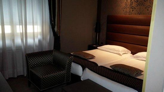 Hotel Mozart: Twin room