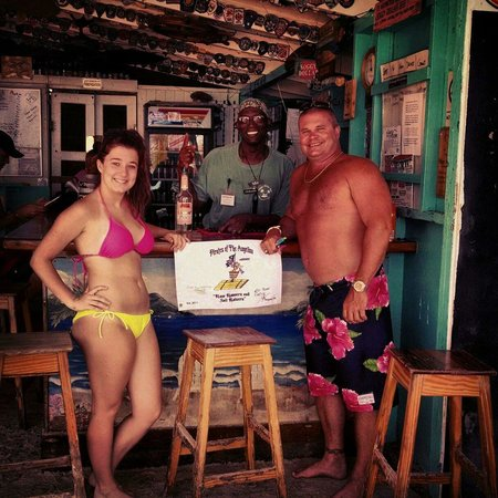 Soggy Dollar Bar: Ayden Mic and I
