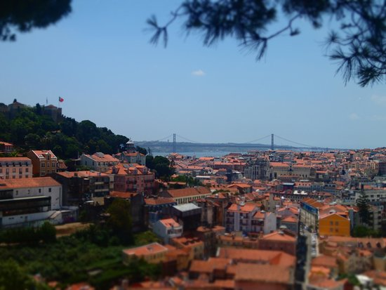 Lisbon Chill-Out Free Tour: View of Lisbon from the final stop.