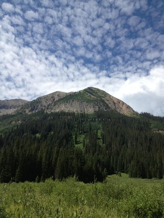 Schofield Pass: The mountain