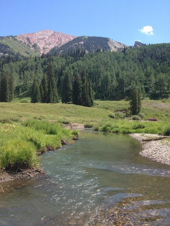 Schofield Pass : The river