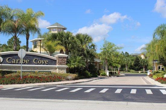 Caribe Cove Resort Orlando: Entrada