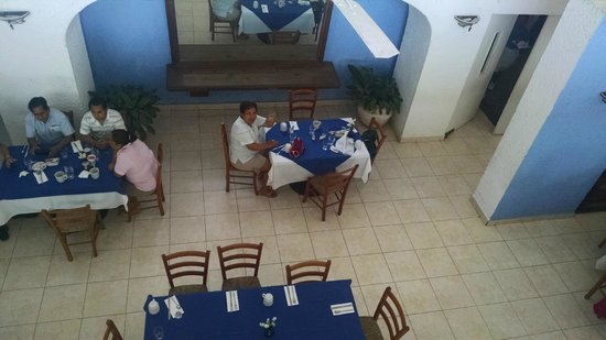 Posada Real Puerto Escondido: Restaurante