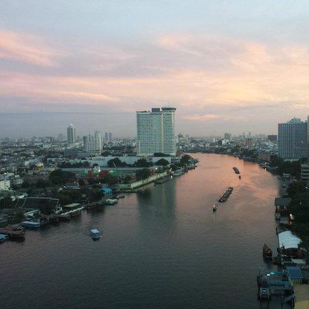 Shangri-La Hotel,Bangkok: view room/balcony