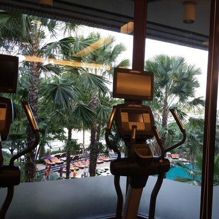 Shangri-La Hotel,Bangkok: gym