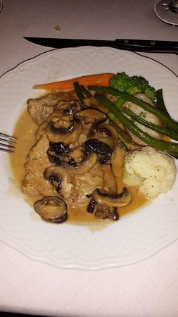 Birch Ridge Inn: veal marsala