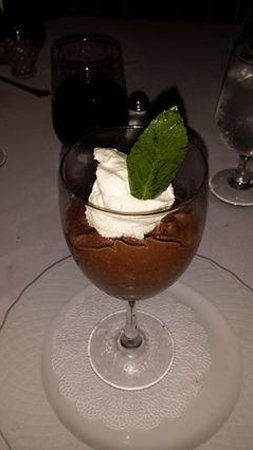 Birch Ridge Inn: chocolate mousse
