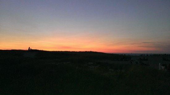 Jetties Beach: July 5th sunset