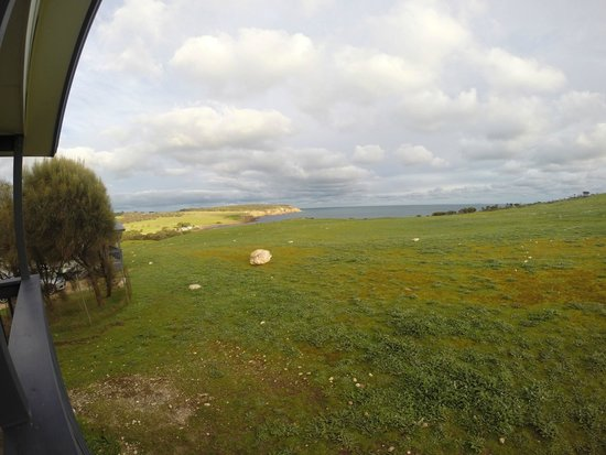 Waves and Wildlife Cottages: View from deck