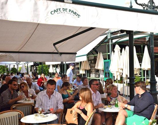 Casino of Monte-Carlo : Cafe Paris next door - great people watching