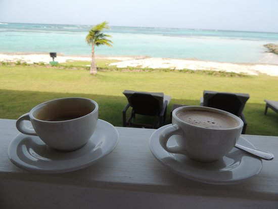 Club Med Punta Cana : Espresso on our beautiful front porch.
