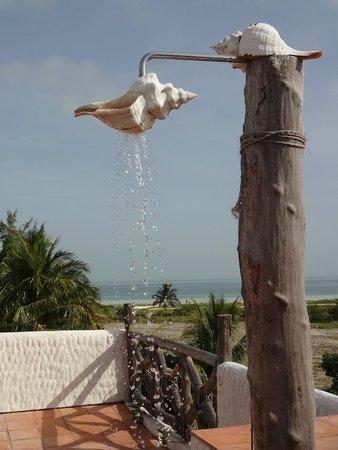 Xaloc Resort: perfect shower!