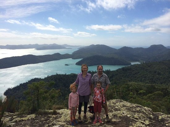Whitsunday Escape: On top of Whitsunday Peak