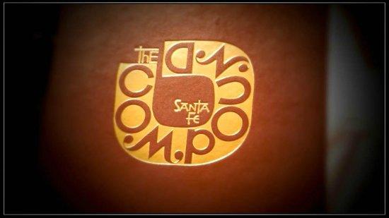 The Compound Restaurant : Menu